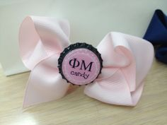 I have a bow obsession!! I'm OBSESSED with bows! TSM! I want to make a bow for my little next semester so we can be all matchy and stuff, with my SAO letters on it!