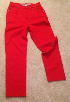 ESCADA SPORT Designer  Pants/ Jeans SIZE (EU 36) Red #EscadaSport #CasualPants