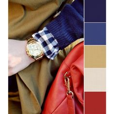 color schemes found on Polyvore