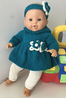 Hooded Outfit for Soft Body Baby Doll Crochet Doll Clothes, Doll Clothes Patterns, Doll Patterns, Clothing Patterns, Knitting Patterns, Baby Born Clothes, Ken Doll, Bitty Baby, Baby Patterns