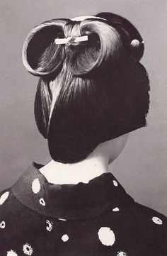 Traditional japanese hair style
