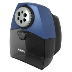 X-ACTO Teacher Pro Electric Pencil Sharpener with SmartStop. Supposedly the BEST sharpener ever. Classroom Direct, Discount Office Supplies, School Supplies, Electric Pencil Sharpener, Student Office, Back To School Essentials, Blue Led Lights, Office Items, Printer Supplies