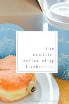 Introducing: The Seattle Coffee Shop Bucket List featuring General Porpoise Seattle Vacation, Seattle Travel, Vacation Ideas, Seattle Shopping, In China, Seattle Washington, Washington State, Seattle Coffee Shops, Starbucks Seattle