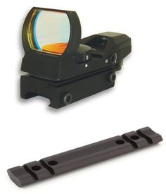Mossberg 500 590 835 Tactical Rail Scope Mount And 4 Reticle Reflex Sight Combo Set *** Read more reviews of the product by visiting the link on the image.
