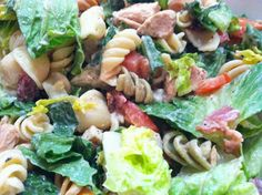 """""""Point-less"""" Meals: BLT Pasta Salad with Chicken"""