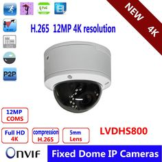 276.00$  Buy now - http://ali7nv.worldwells.pw/go.php?t=32709873113 - Muti-language version  4K Smart Indoor Dome CCTV Camera with 12MP CS 5mm HD Lens and POE