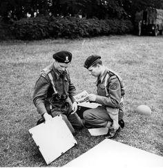 1ra División Blindada Polaca - ejercicios antes de la invasión, 1944.