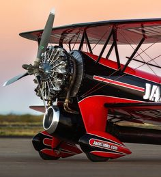 The Jack Links custom stunt plane had a great show at 2014 Reno air races