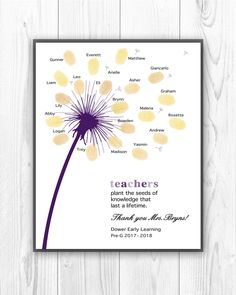 A personal favorite from my Etsy shop https://www.etsy.com/listing/593788024/personalized-teacher-appreciation-gift