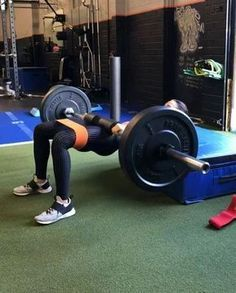 """11k Likes, 115 Comments - Alexia Clark (@alexia_clark) on Instagram: """"Super Duper Set Glute Hip Thrust 1. Wide stance: 10 Reps 2. Neutral stance: 10 Reps 3. V Stance…"""""""