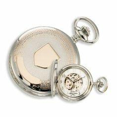 Charles Hubert 2-tone Rose Gold-plated 17Jewel Brass Pocket Watch Jewelry Adviser Charles Hubert Watches. $108.94. Save 60%!