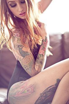 Love the feminine sleeve