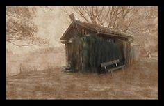 Fischerhaus mit Netzen - Fishing house with nets -  Pixelfaxe/Flickr Fishing, Photo And Video, House Styles, Nice Asses, Peaches, Pisces, Gone Fishing