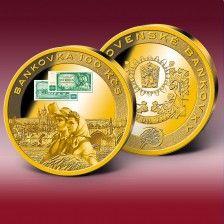 """Pamětní ražba """"Bankovky 100 Kčs"""" Coins, Personalized Items"""