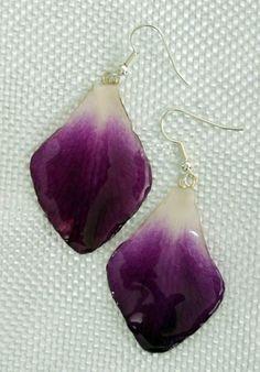 Orchid Petal Earrings