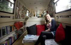 Sarah Henshaw and the Book Barge