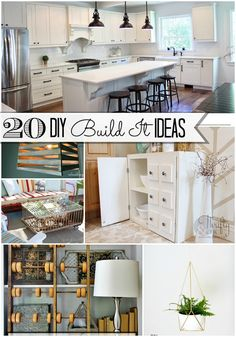 Great Ideas -- 20 DIY Build-It Ideas! Tatertots and Jello