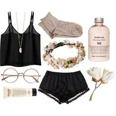 Lounge Outfit, Lounge Wear, Cute Lazy Outfits, Casual Outfits, Cute Sleepwear, Teen Fashion Outfits, Comfortable Outfits, Pyjamas, Polyvore Outfits