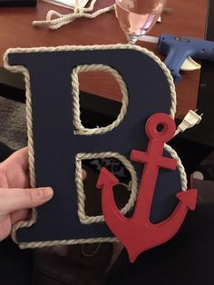 Nautical letters, Bouknecht Boutique
