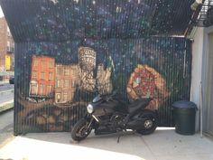 Outside of Kings Coffee on Carroll Street in Columbia Waterfront.