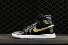 official photos 8c552 40288 Air Jordan 1 Retro OG Jordan Brand Classic Black Metallic Gold For Sale,  Mbtsshoes