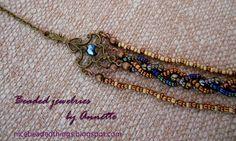 Гарненькі бісерні штучки | Beaded jewelries by Annette: Старовинна арабеска