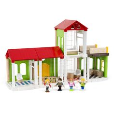 Village is BRIO's first character-based play theme that encourages children to play together with the help of stories from their own everyday life! Mix and match with your BRIO wooden railway sets! http://www.mastermindtoys.com/BRIO-Wooden-Toys.aspx?_outline=Sub-Brand--SBBRIOVILLAGE