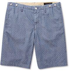 Rag & bone Cotton-Dobby Shorts | MR PORTER