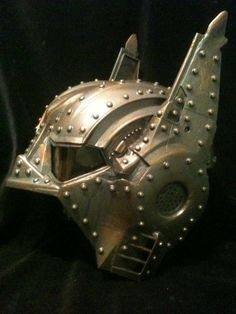 dc steam punk super hero | OHHH! Steampunk Batman Helmet Dark Knight Mask Bronze Life by kyoob, $ ...