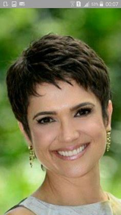 Today we have the most stylish 86 Cute Short Pixie Haircuts. We claim that you have never seen such elegant and eye-catching short hairstyles before. Pixie haircut, of course, offers a lot of options for the hair of the ladies'… Continue Reading → Short Grey Hair, Short Hair Cuts For Women, Short Hairstyles For Women, Bob Hairstyles, Wedge Hairstyles, Hairstyle Men, Wave Hairstyle, Locks Hairstyle, Ladies Hairstyles