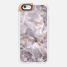 Grey Purple Marble - protective iPhone 6 phone case in New Standard Luxe Rose Gold by Marblous | A little rose gold detail to show your style >>> https://www.casetify.com/product/grey-purple-marble/iphone6s/new-standard-luxe-case#/267601 | @casetify