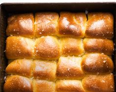 Parker House Rolls Recipe | A top coat of melted butter and salt makes these dinner rolls irresistible.
