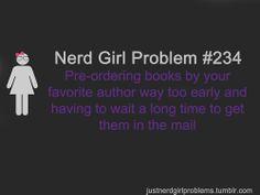 Nerd Girl Problem #234