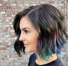 Pops of color by She maintains this amazing color using Pops of color by She maintains this amazing color using NEW Hypoallergenic and Fragrance-Free SuperSheer Clean Shampoo & Conditioner. Short Hair Cuts, Short Hair Styles, Cimorelli Sisters, Pixie Haircut, Pixie Cut, Hair Inspiration, Color Pop, Salons, Cool Hairstyles