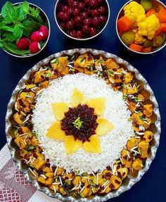 The first iran travellers source for iran travel guide and tours for better trip and visit sightseeing iranian most popular cities for tourists. Afghan Food Recipes, Indian Food Recipes, Armenian Recipes, Food Platters, Food Dishes, Iran Food, Iranian Cuisine, Food Garnishes, Fun Easy Recipes