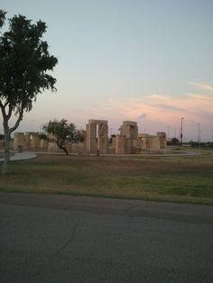 Replica of Stonehenge Odessa, Tx.