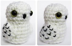 Amigurumi snow owl - So adorable! I need to find a pattern for this one!