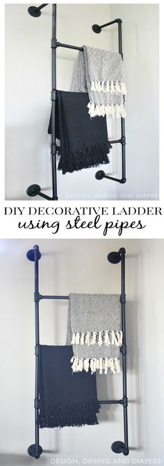 Best Diy Home Decor Ideas is charming, comfy, homey, and packed with personal touches and character. I'm sharing some DIY Home Decor Ideas that you can use to give your own home the endless and c… Decor Crafts, Diy Home Decor, Diy Decoration, Wood Furniture, Home Projects, Decorating Your Home, Ladder Decor, Home Improvement, Crib