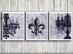 French fleur de lis Decorative art