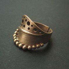 Echo | bronze clay (Goldie Bronze) | Anna Fidecka | Flickr