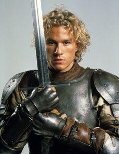 Heath Ledger, a Knights tale | Follow @sophieeleana