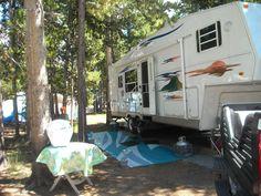 Employee RV park, Old Faithful, Yellowstone NP