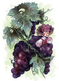 Pomme De Mer by sanoe on DeviantArt Character Art, Character Design, Fairy Land, Art And Illustration, Types Of Art, Faeries, Figurative Art, Amazing Art, Book Art