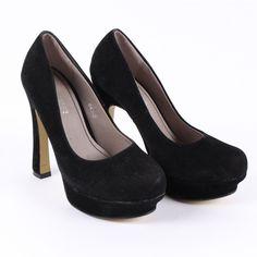 Dámské lodičky Mixer semišové černé Peeps, Peep Toe, Shoes, Fashion, Moda, Zapatos, Shoes Outlet, Fashion Styles, Shoe
