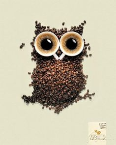 A creative coffee advertising