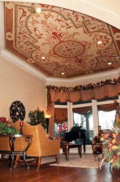 LOVE ceiling Decorative Concrete http://designamour.com/category/decorative-concrete/#
