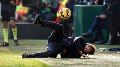 Roberto Mancini Bolada Inter de Milão Genoa Campeonato Italiano 11/01/2015
