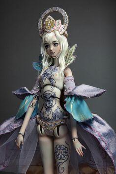 Porcelain BJD Doll Crono by FHDolls