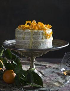 Naked Orange Poppy Seed Cake - BakeClub