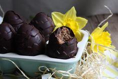 Salted Caramel Fondant Easter Eggs